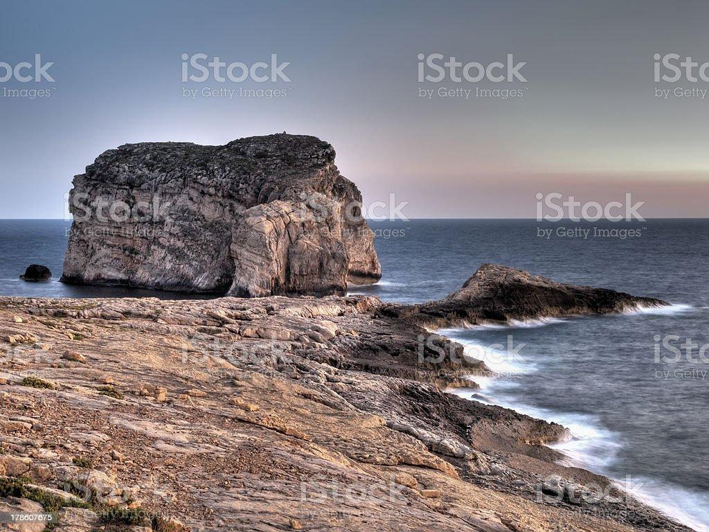 Fungus Rock royalty-free stock photo