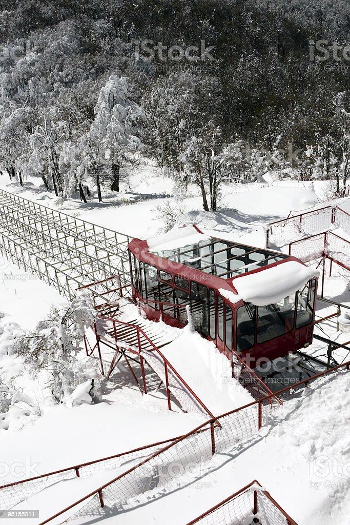 Funicular royalty-free stock photo