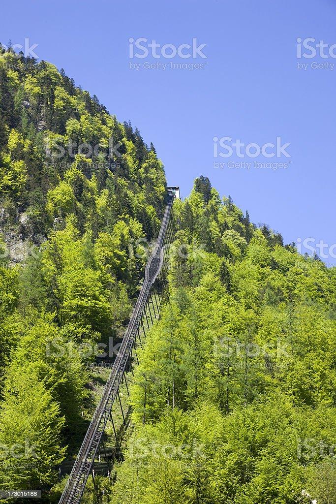 funicular railway royalty-free stock photo