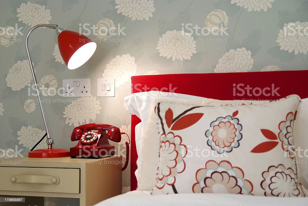 Funky Bedroom royalty-free stock photo