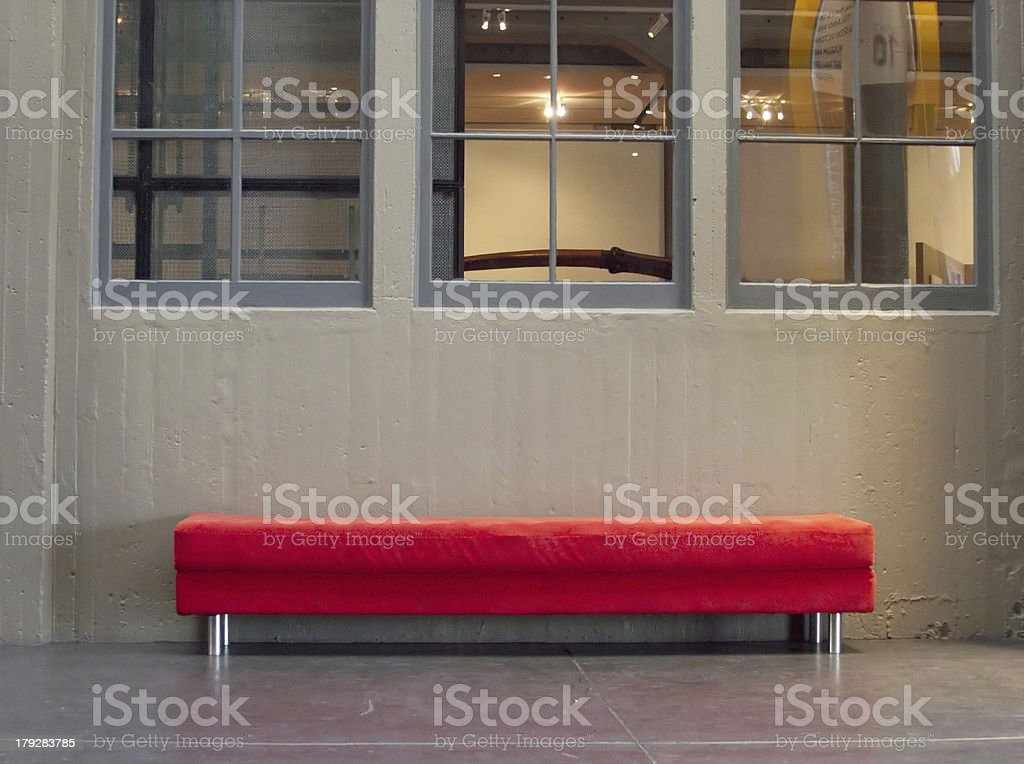 funky bench royalty-free stock photo
