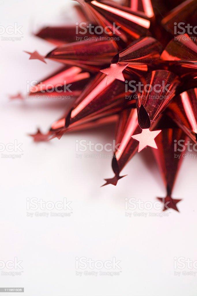 Funky christmas bow royalty-free stock photo