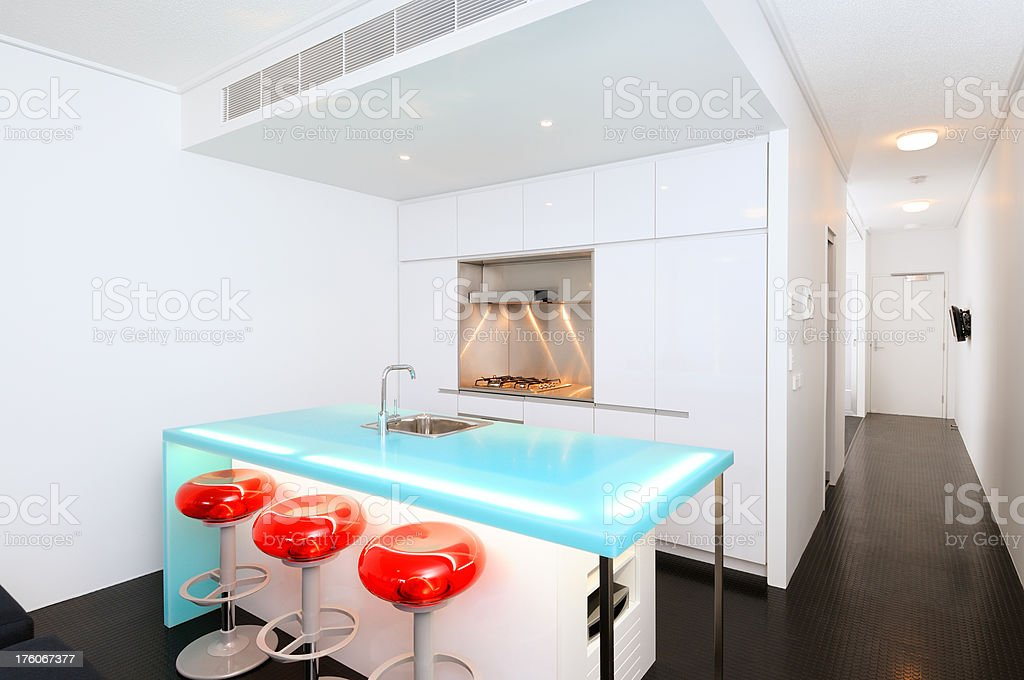 funky Cool Kitchen royalty-free stock photo
