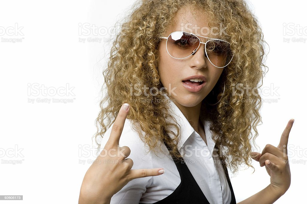 Funky Cool royalty-free stock photo