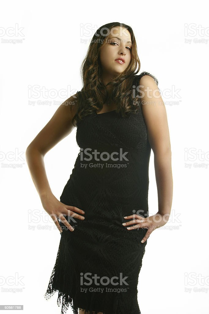 Funky Female stock photo
