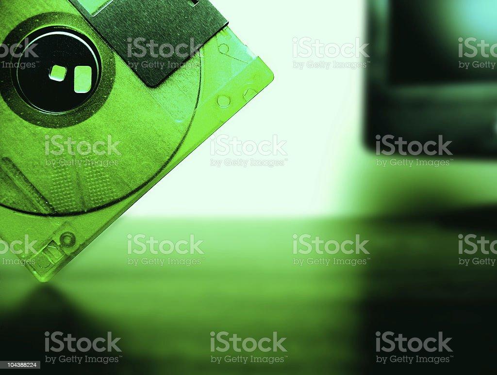 Funky Floppy stock photo
