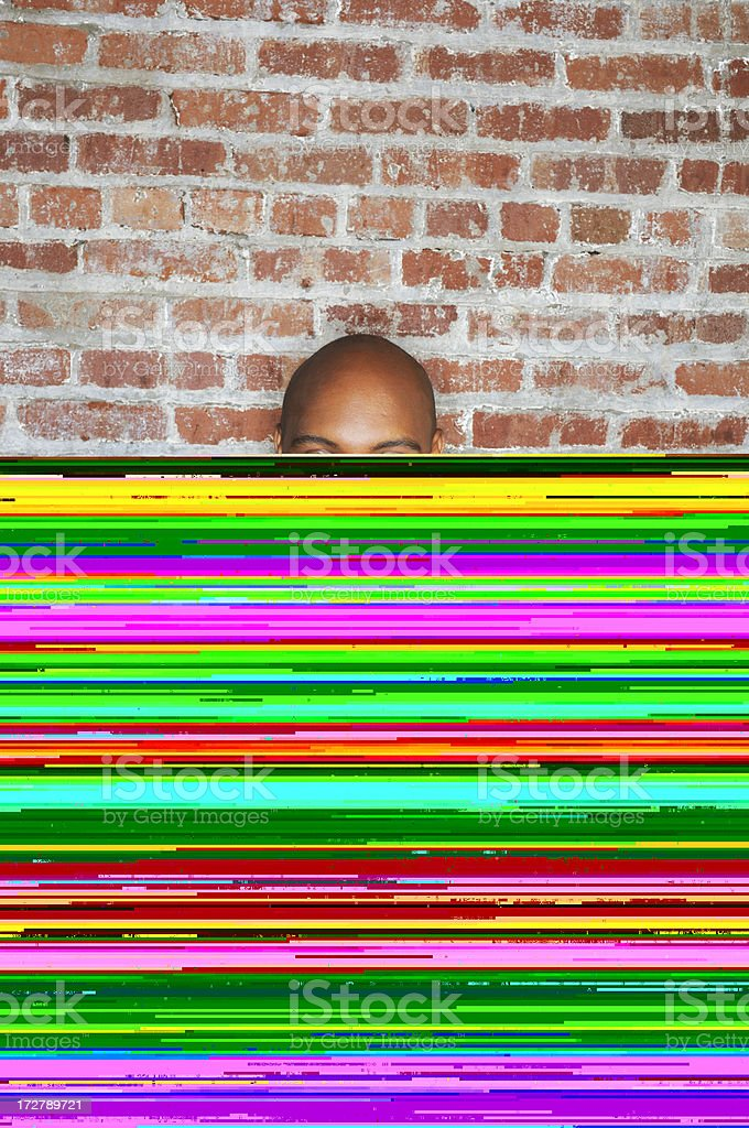 funky front royalty-free stock photo