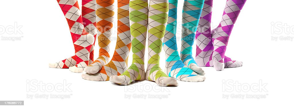Funky Fun Socks royalty-free stock photo
