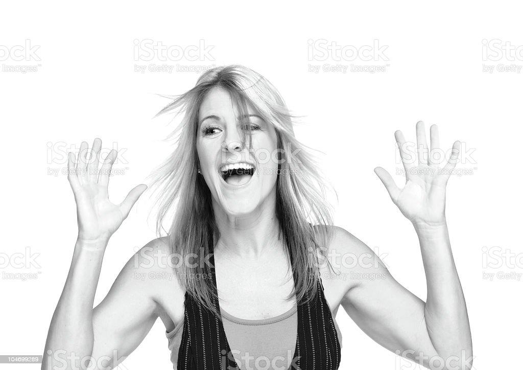 Funky Girl royalty-free stock photo