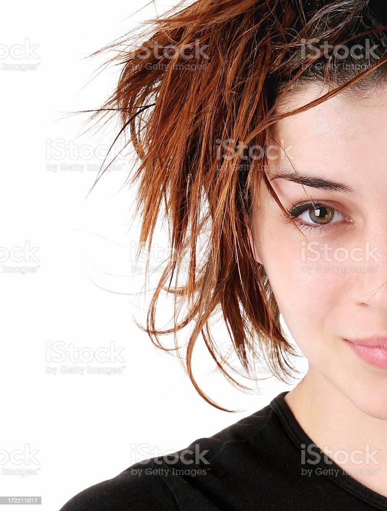 Funky Hair royalty-free stock photo