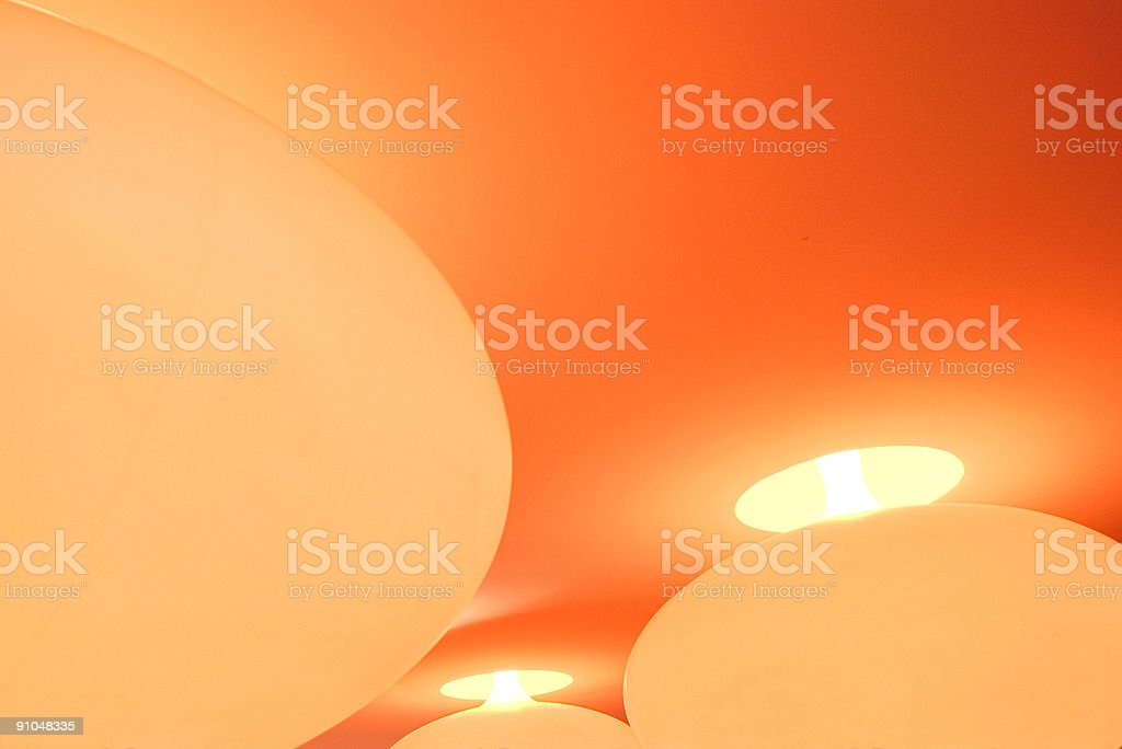 Funky lamps royalty-free stock photo