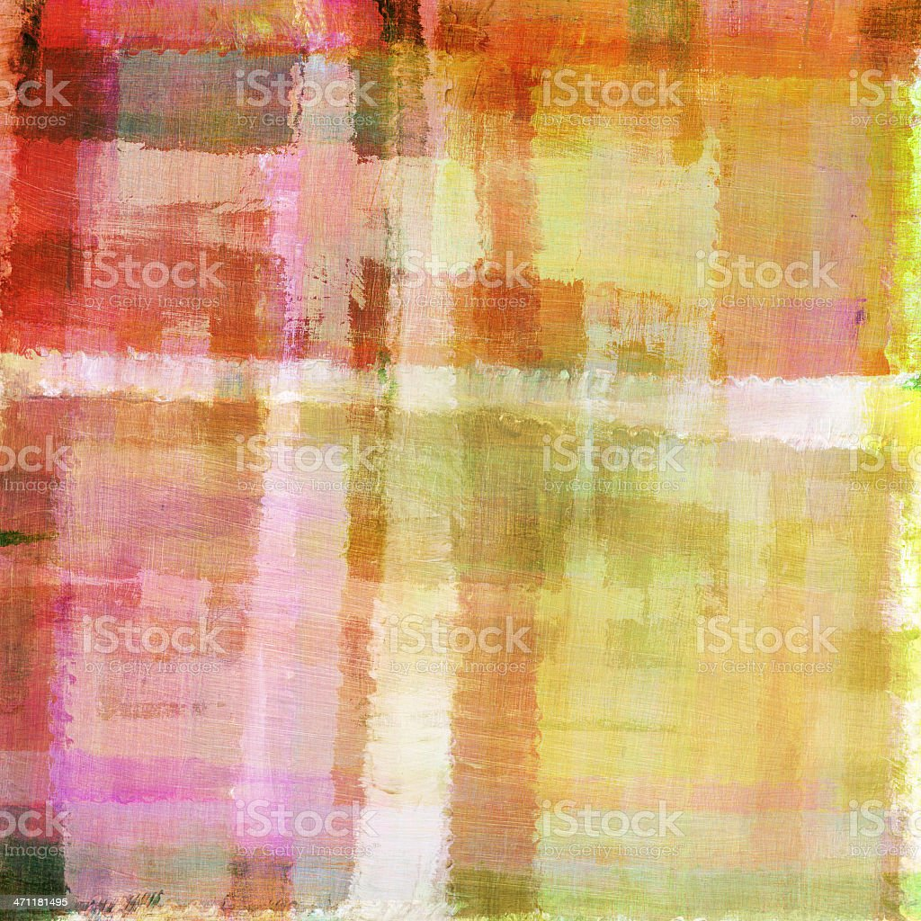 Funky Painted Background royalty-free stock photo