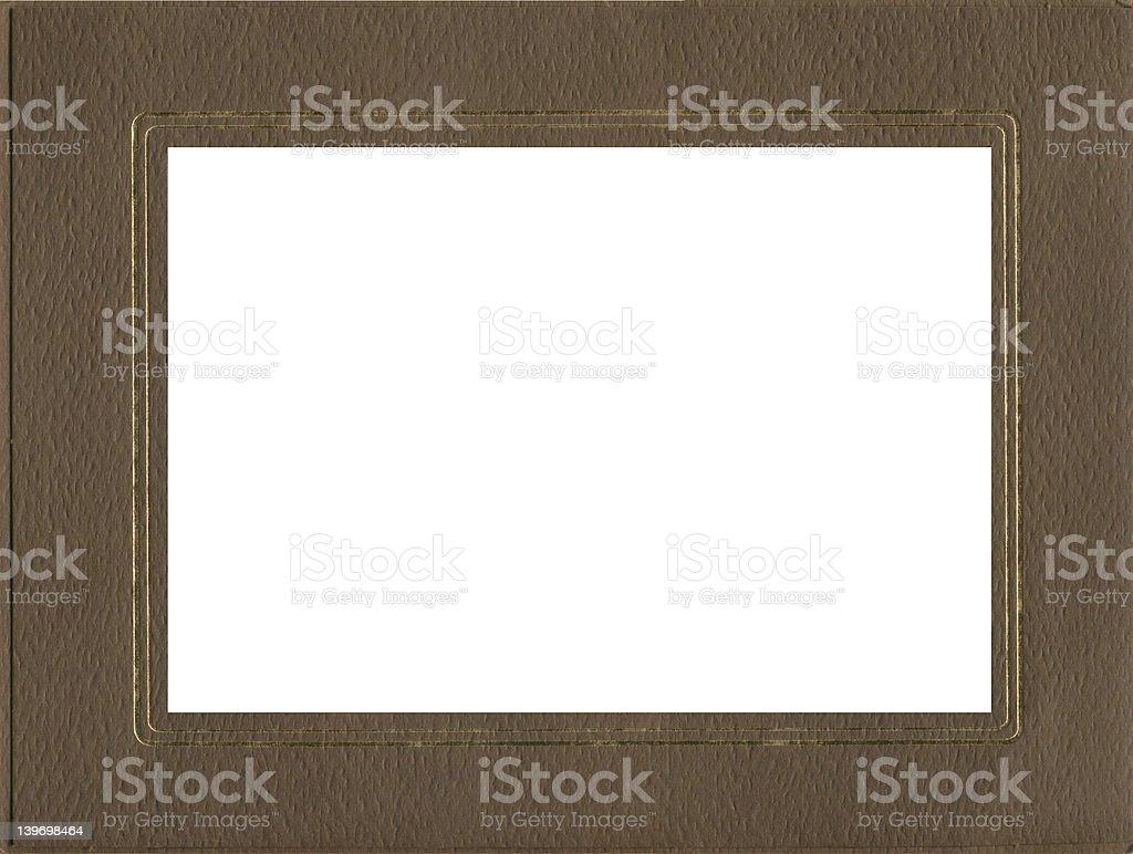 funky texture rétro cadre photo libre de droits
