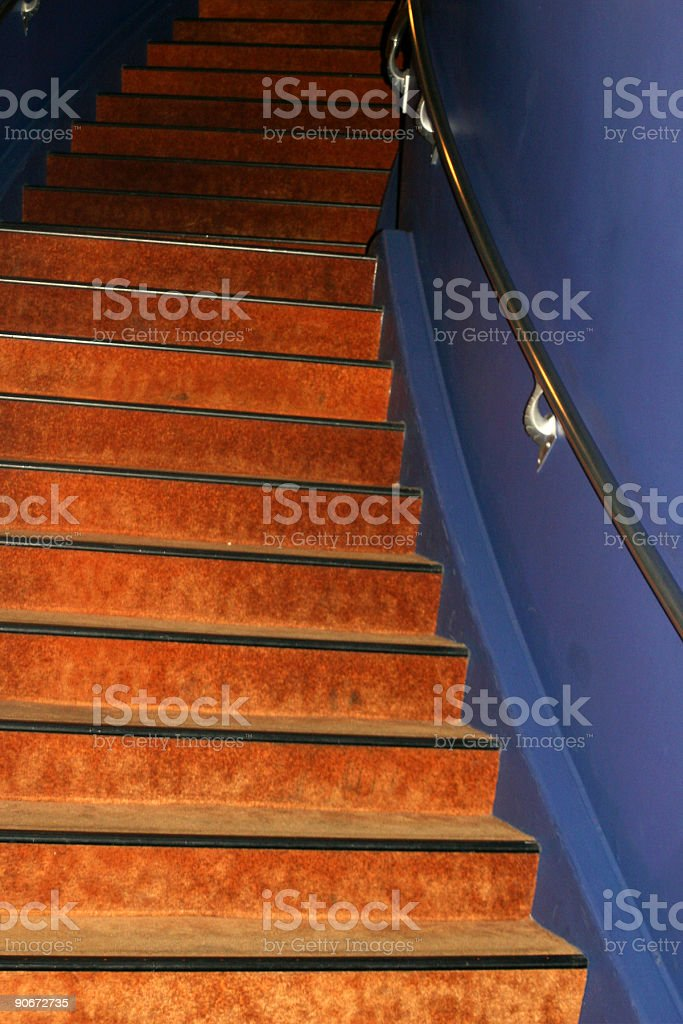Funky Stairwell royalty-free stock photo