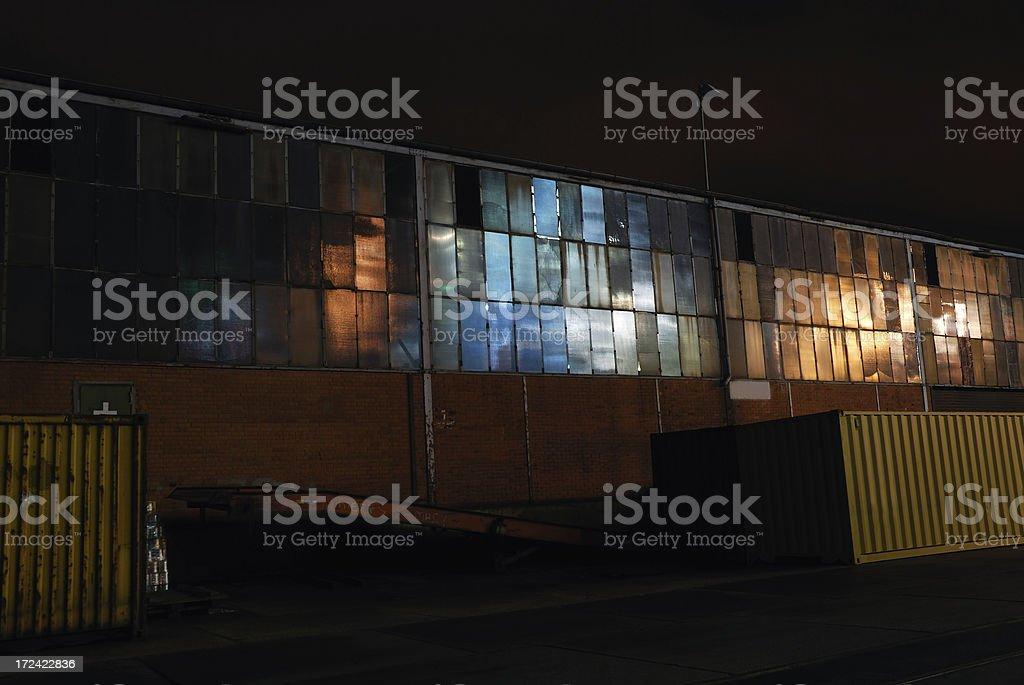 funky warehouse royalty-free stock photo