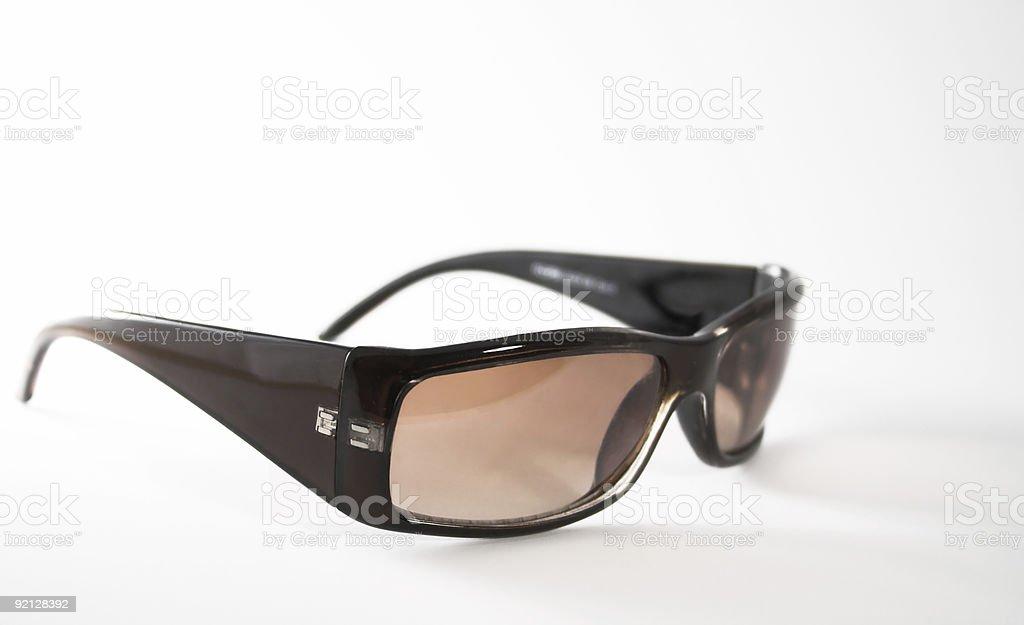 Szałowy szeroki rim, okulary przeciwsłoneczne zbiór zdjęć royalty-free