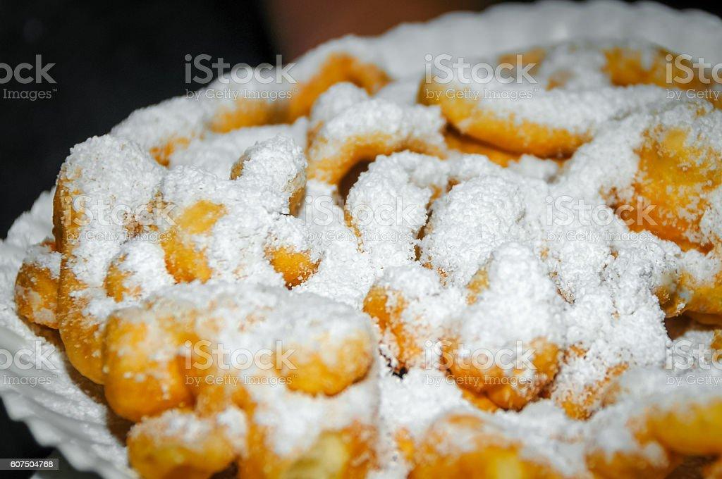 Funnel Cake stock photo
