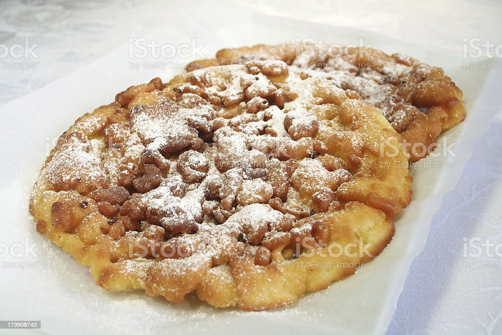 Funnel Cakes royalty-free stock photo
