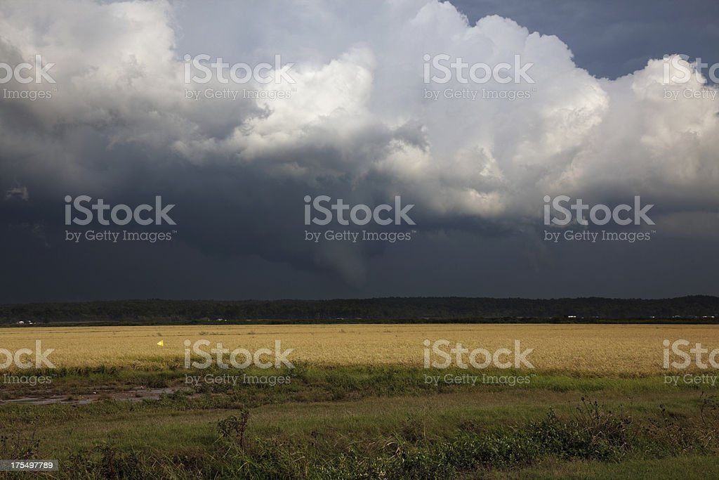 Funnel Cloud stock photo