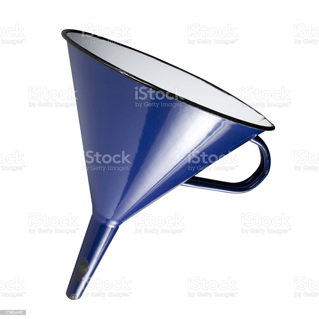Funnel royalty-free stock photo