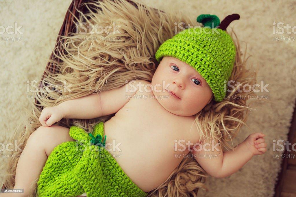 Lustige baby Lizenzfreies stock-foto