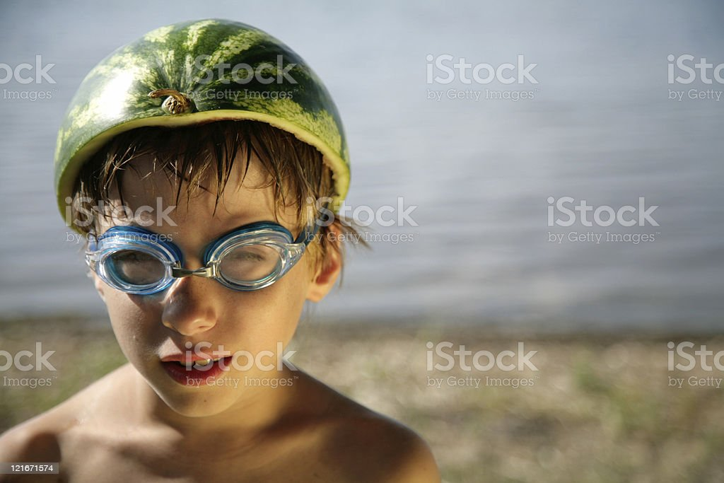 Funny boy royalty-free stock photo