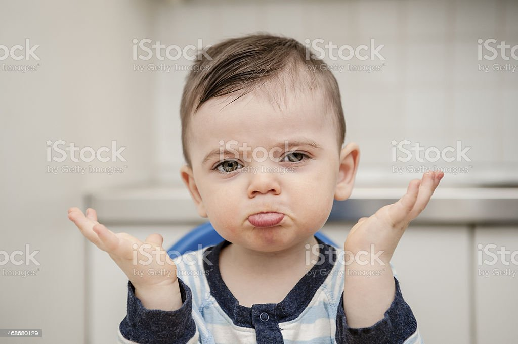 Funny Boy stock photo