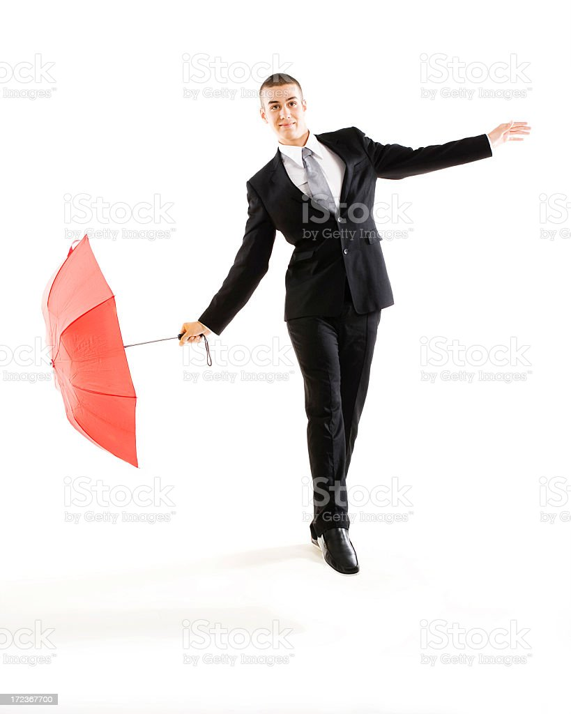 Funny business royalty-free stock photo