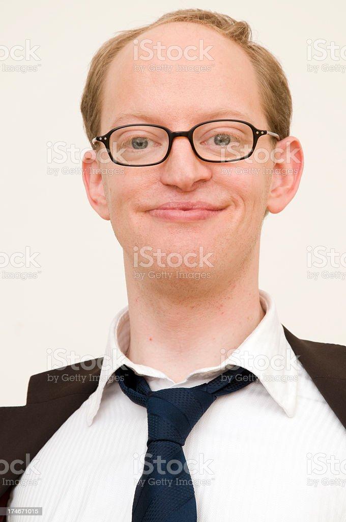 funny businessman royalty-free stock photo