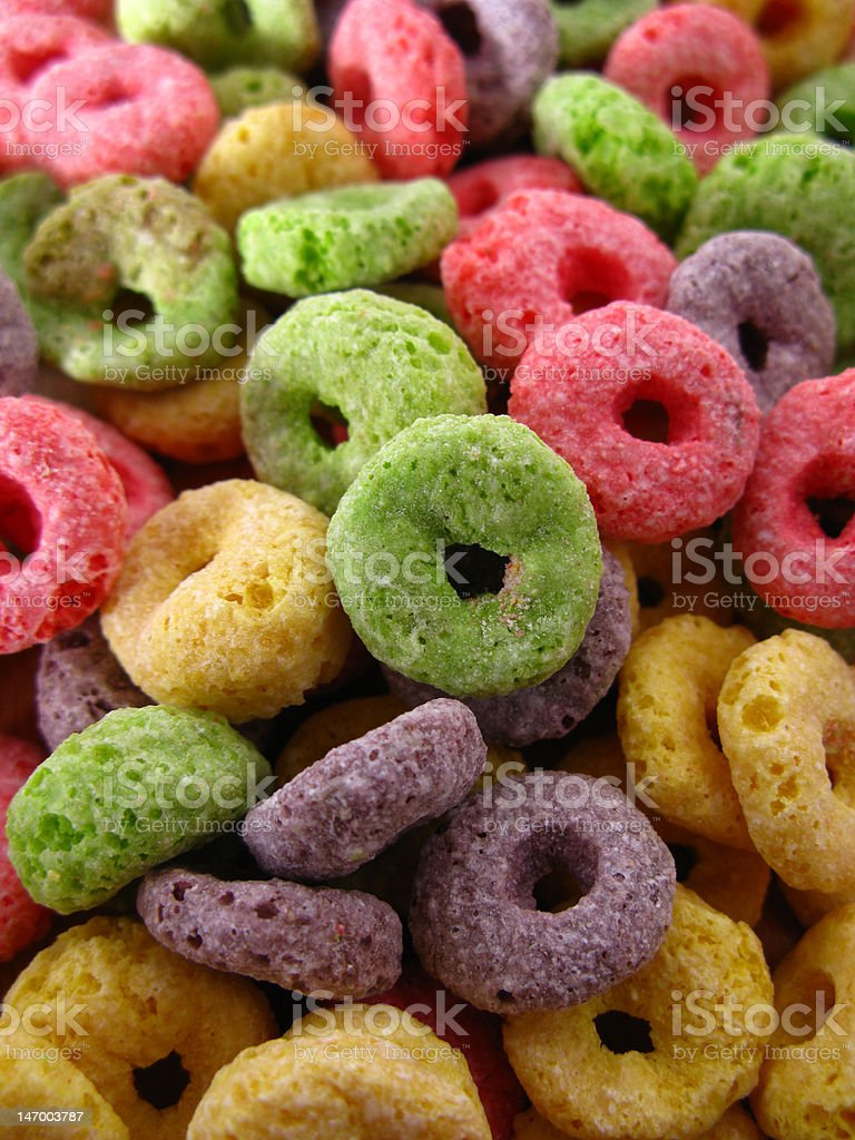funny cereals royalty-free stock photo