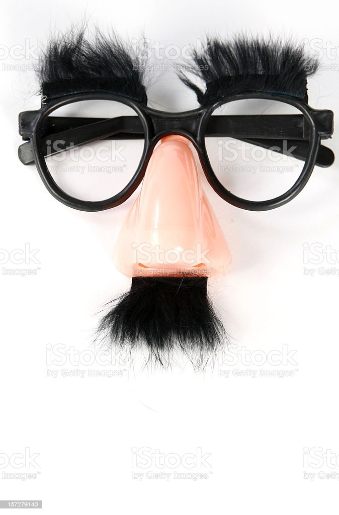 Funny Disguise stock photo