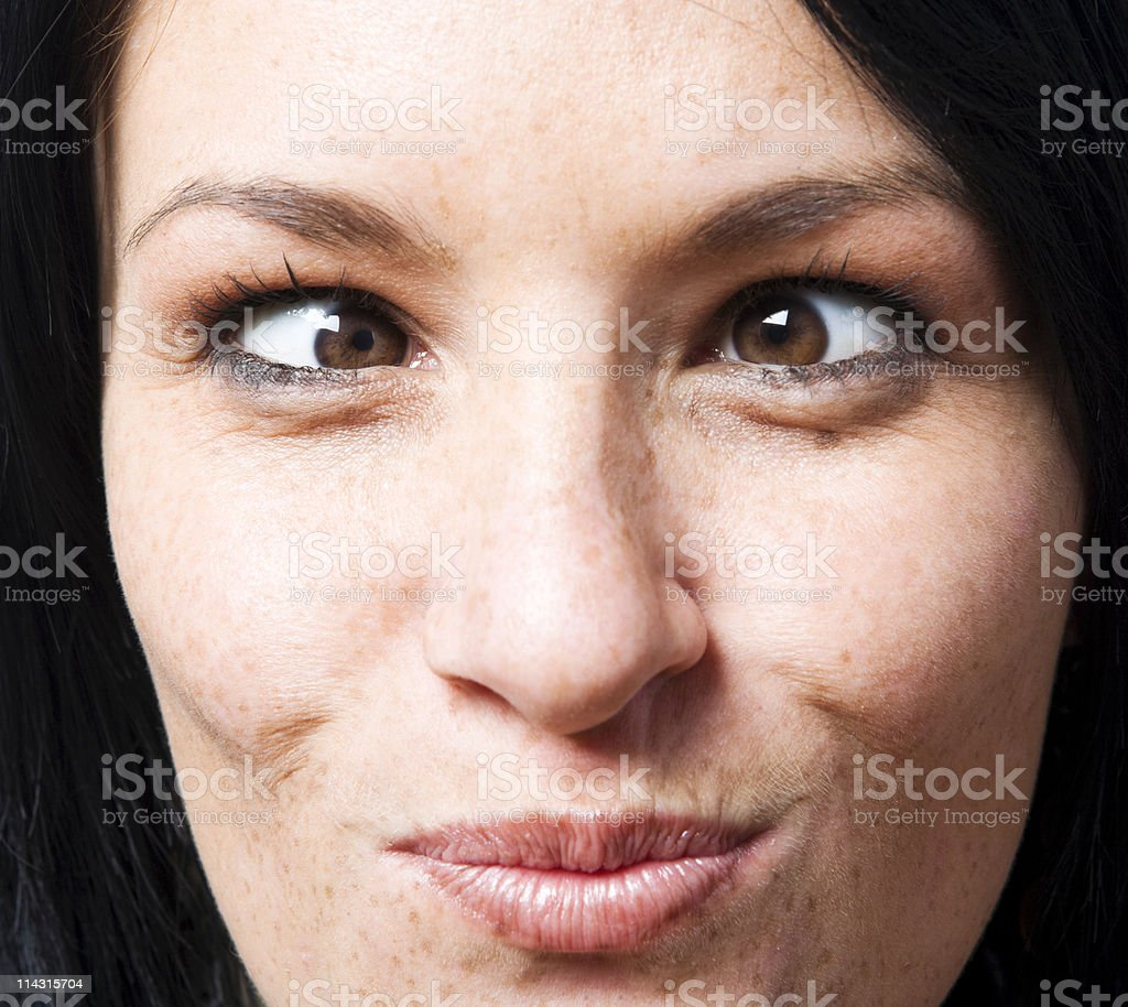 Funny eyes royalty-free stock photo