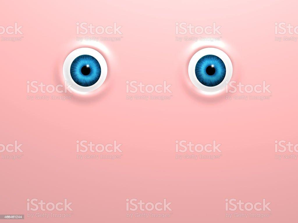 Funny eyes stock photo