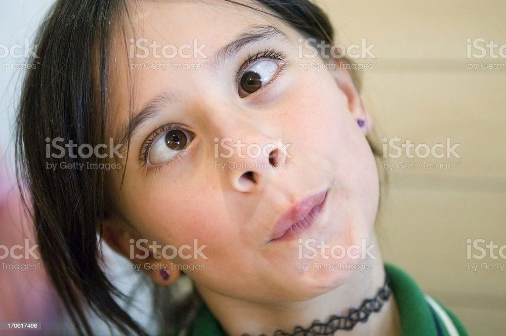 Funny Face stock photo