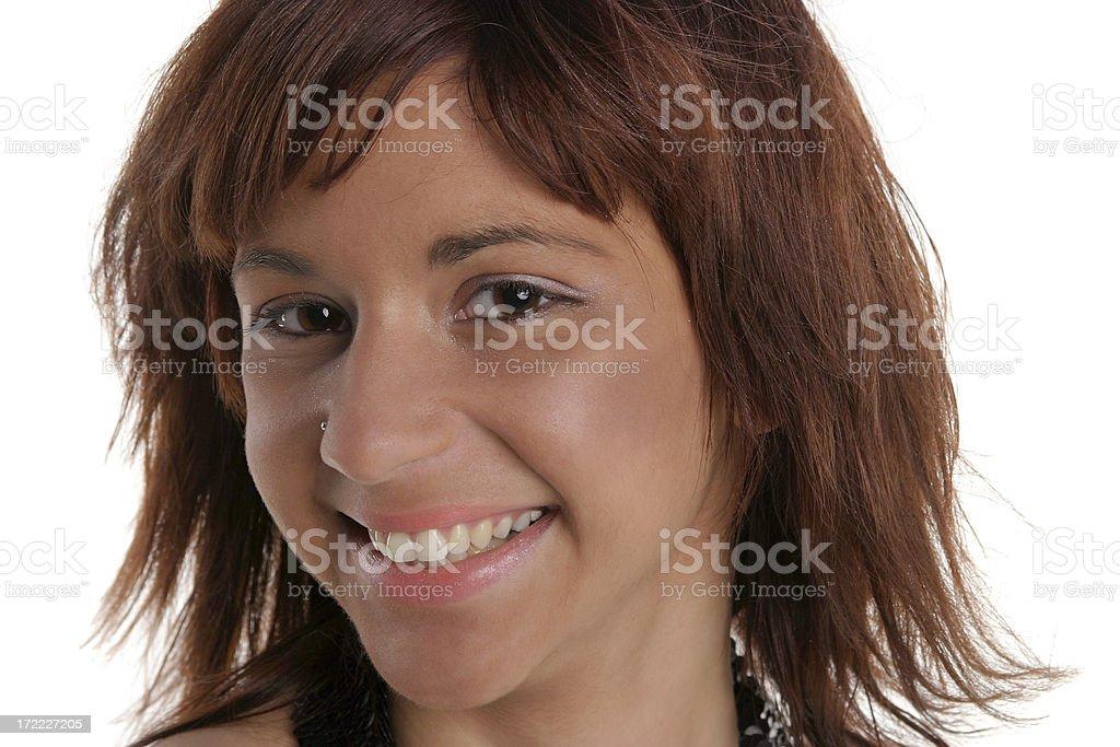 Funny face royalty-free stock photo
