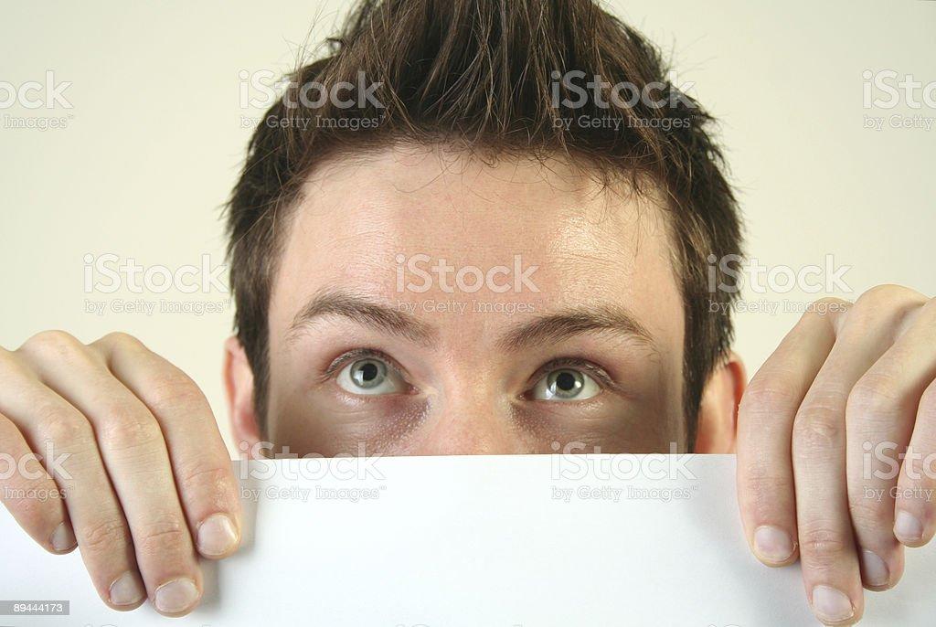 Funny Gesicht Lizenzfreies stock-foto