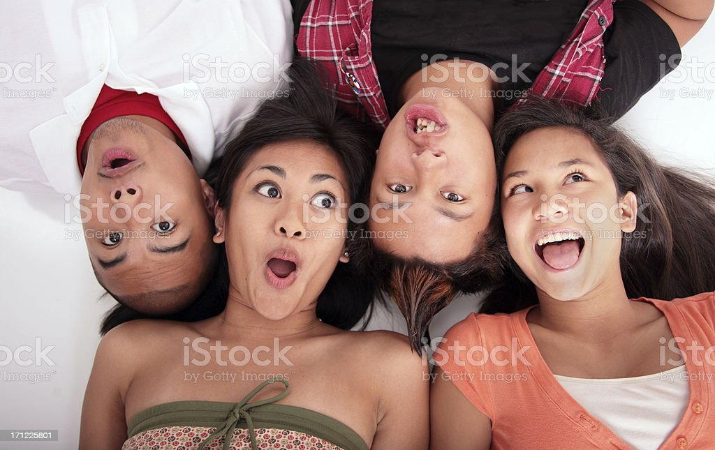 Funny Faces stock photo