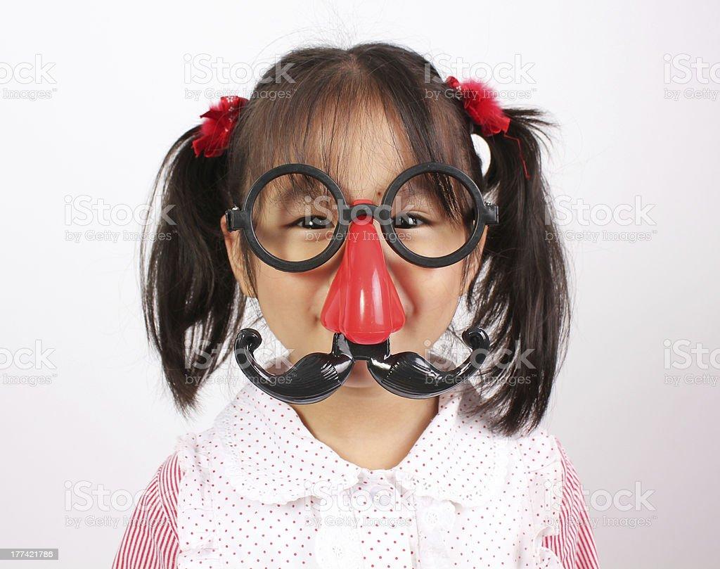 Lustige Mädchen Lizenzfreies stock-foto