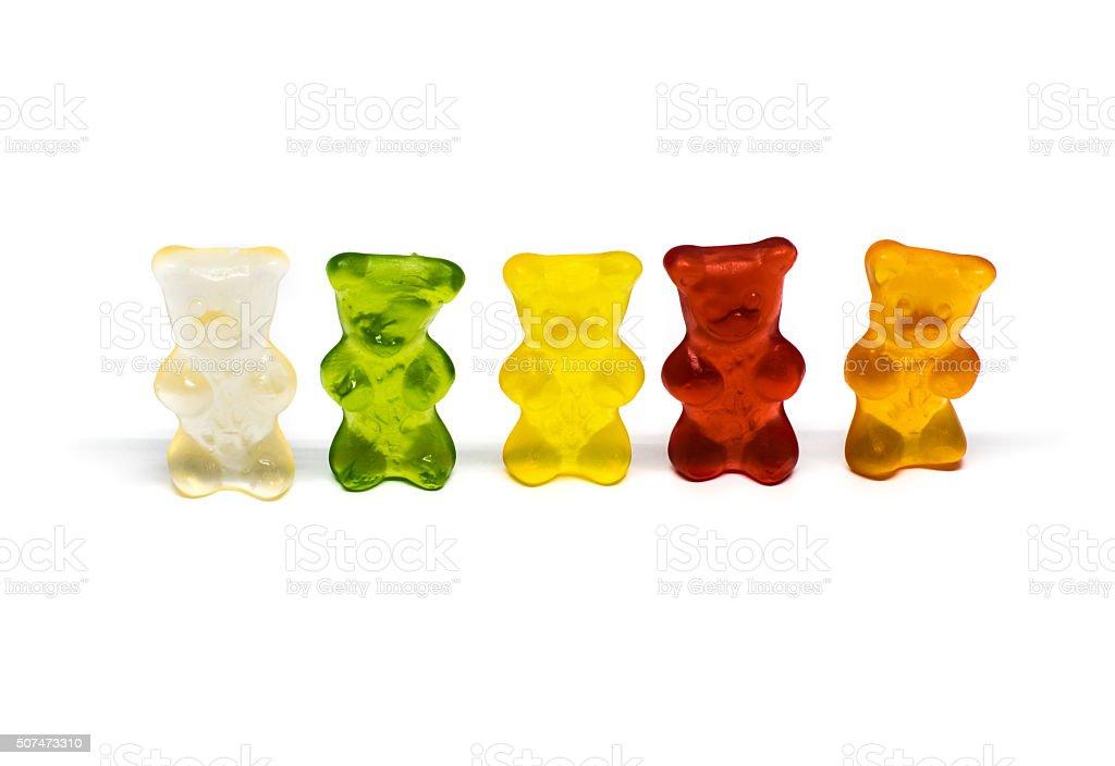 funny gummy bears stock photo