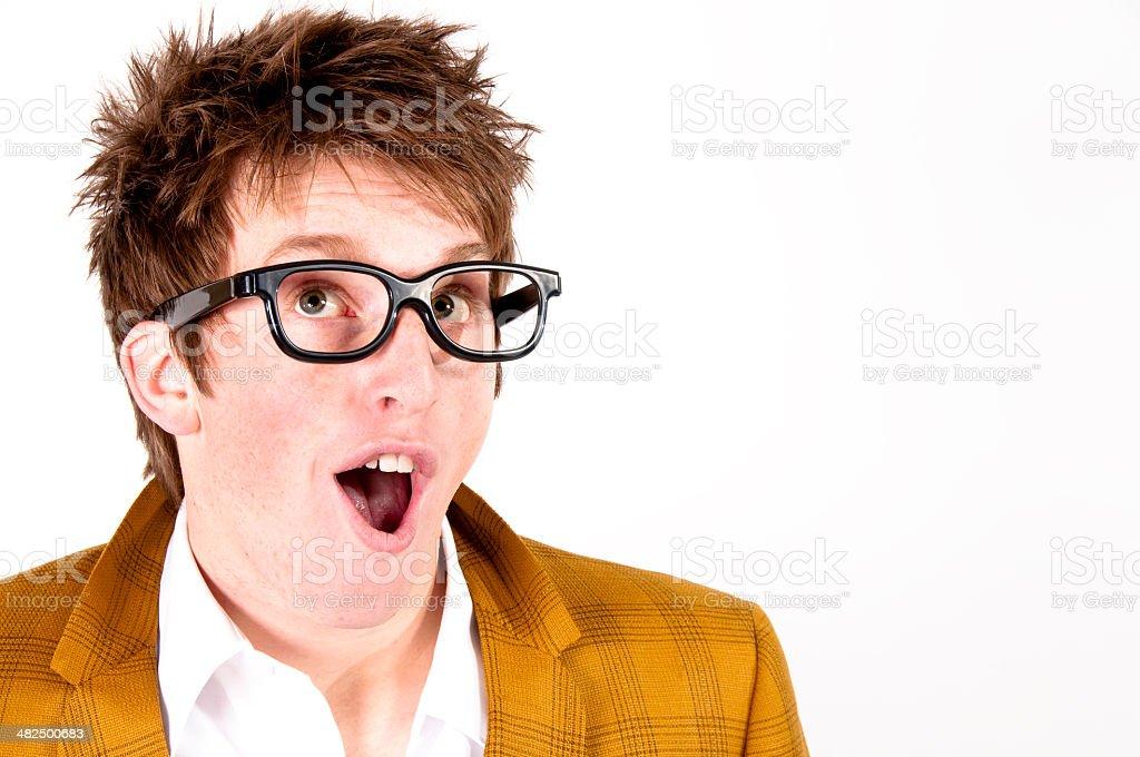 funny guy royalty-free stock photo
