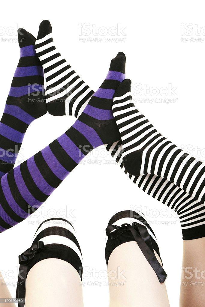 Funny Legs stock photo