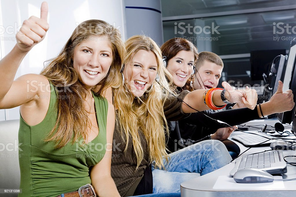 Funny leisure royalty-free stock photo