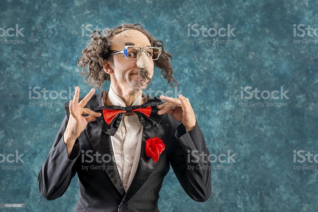 Funny man royalty-free stock photo