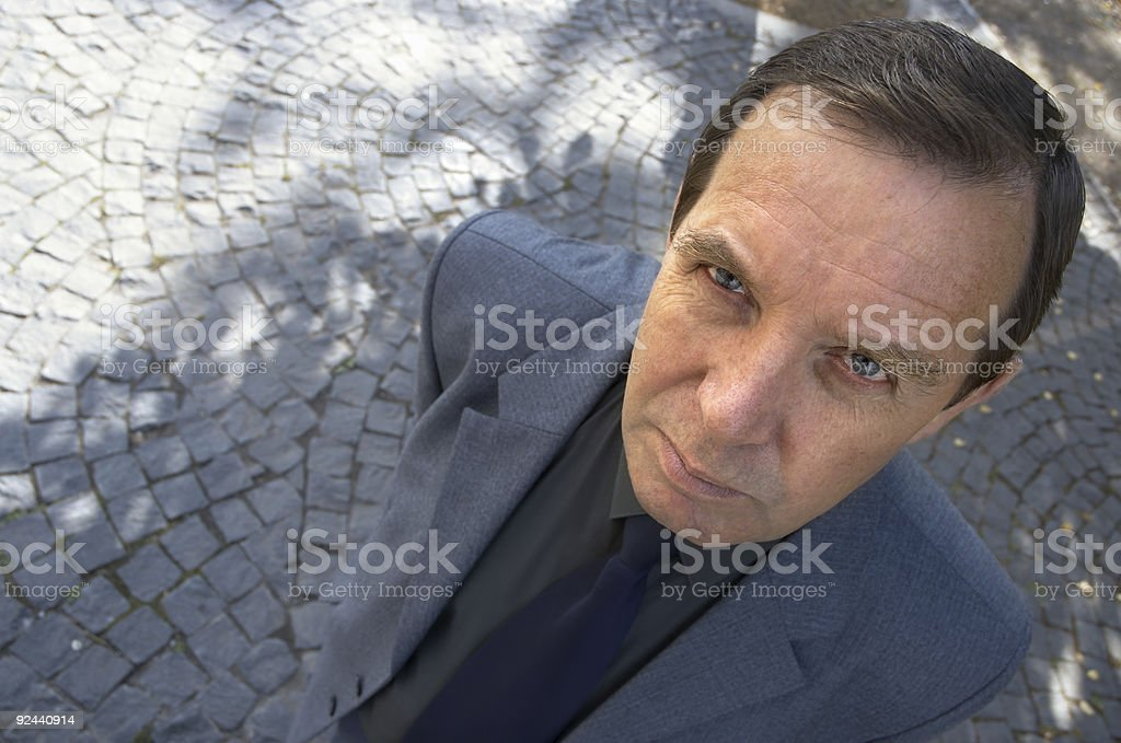 funny manager royalty-free stock photo