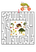Funny maze game for Preschool Children.