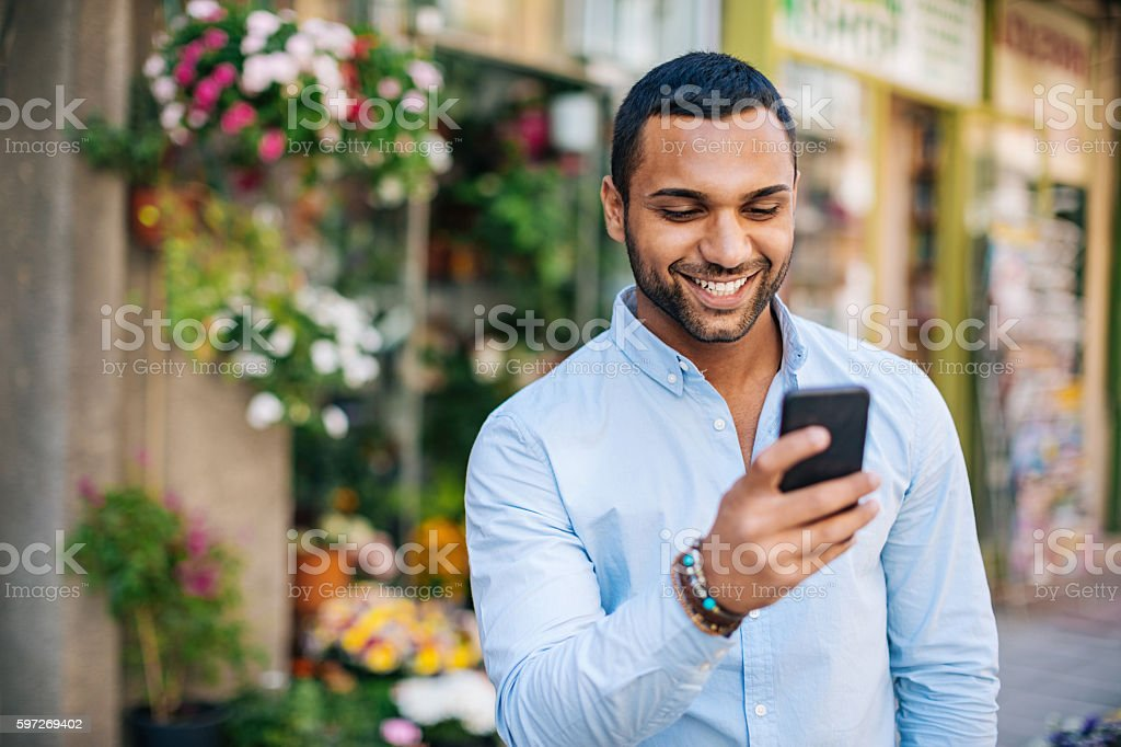 Funny message stock photo