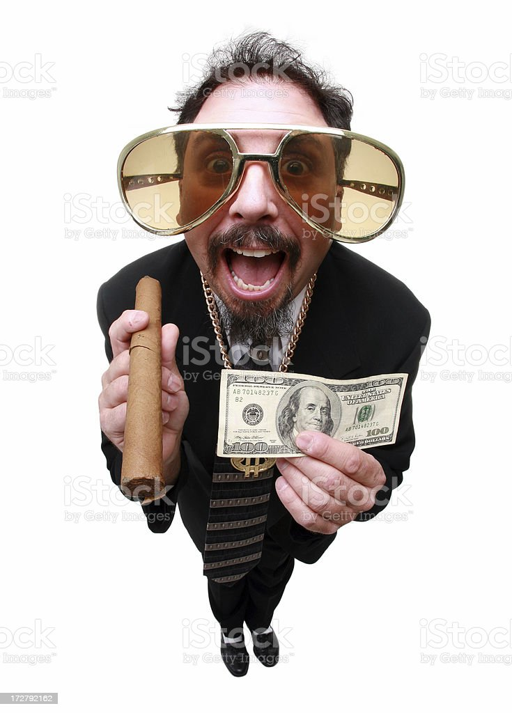 Funny Money royalty-free stock photo