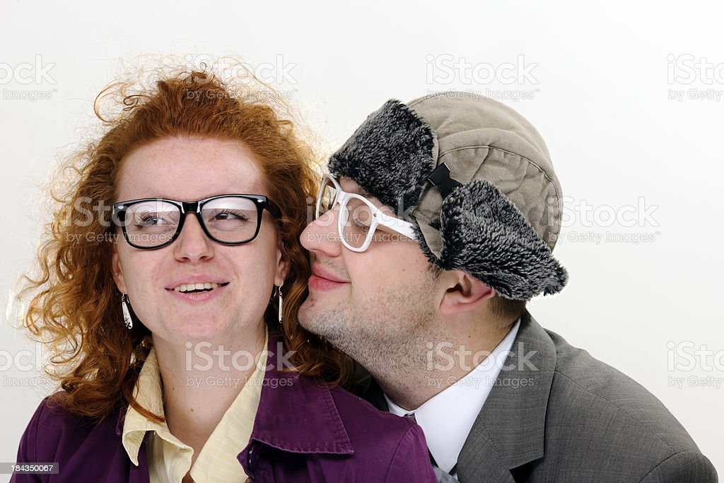 funny nerds stock photo