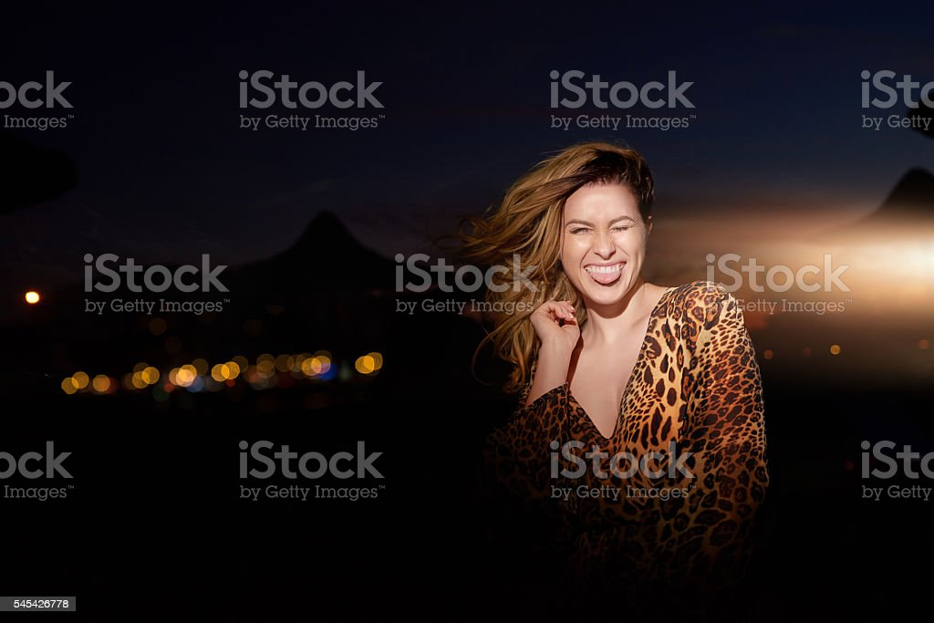 funny night stock photo