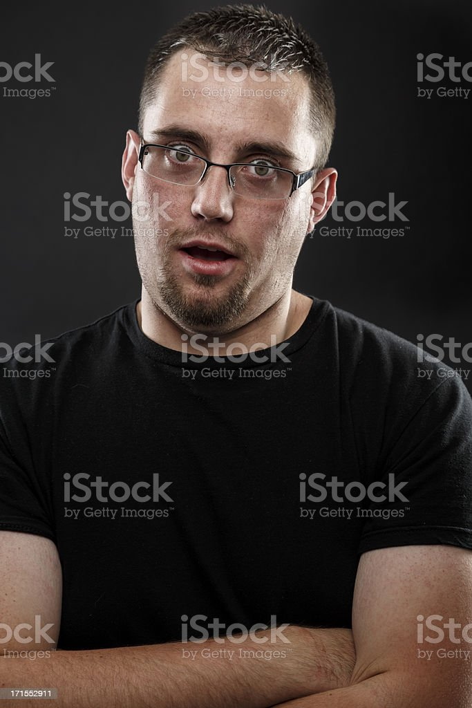 Funny Portrait stock photo